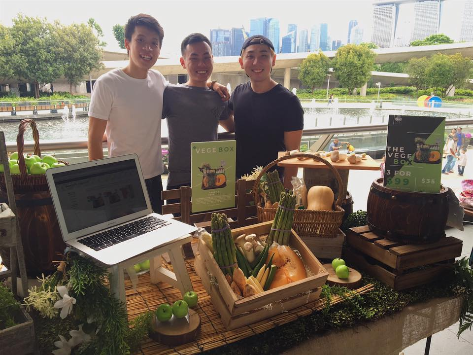 TreeDots Founder Team at Earthfest Singapore 2018