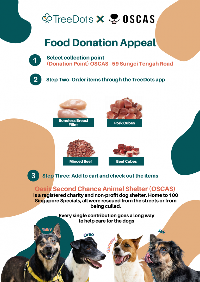OSCAS Food Donation Appeal (July)